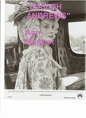 Ann Margret As Lady Booby Joseph Andrews Vintage Original Press Photo With Snipe