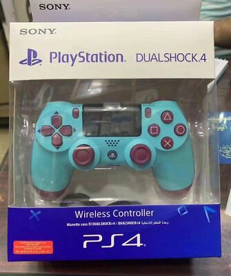 UK NEW Sony Official DualShock 4 Controller (Berry Blue) (PS4) Brand New