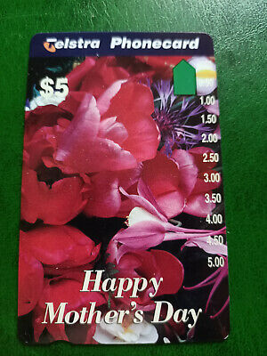 $5 Mothers Day - Flowers Phonecard Prefix 1117