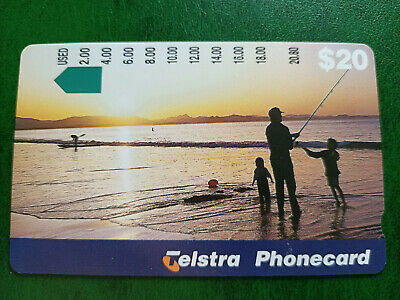 $20 Fishing With Family Phonecard Prefix 1439