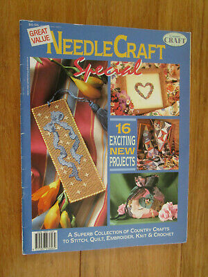 Needlecraft Special. 16 Exciting New Projects To Sew.