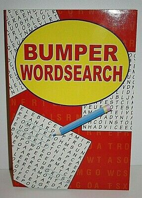 A4 WORDSEARCH BUMPER (230 Pages) PUZZLE BOOK