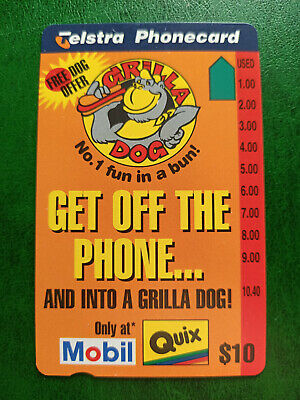 $10 Grilla Dog - Get Off The Phone Phonecard Prefix 1491