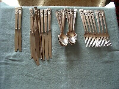 Community Cutlery Set Silver Plated