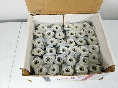 Pack of 55 Power Strut PS RS 3//8 EG 3//8 Nut W//Spring PSRS38EG