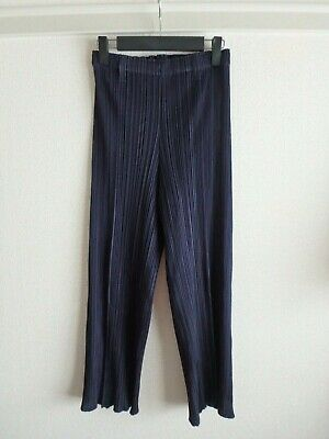 issey miyake pleats please pants size 1 made in japan F/S Excellent