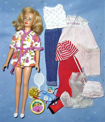 1960s Ideal Tammy friend Misty Doll with Centre Eyes Accessories and Clothes