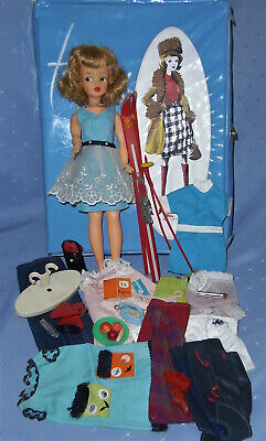 1960s Ideal Tammy Doll plus Case (TLC) Accessories and Clothes