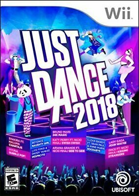 Just Dance 2018 - Wii [video game]