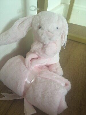 NEW Jellycat Bashful Bunny Soother Pink FREE POSTAGE