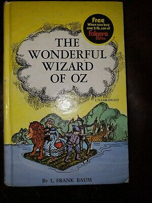 The Wonderful Wizard Of Oz Book by L. Frank Baum Whitman Classics Folgers 1970