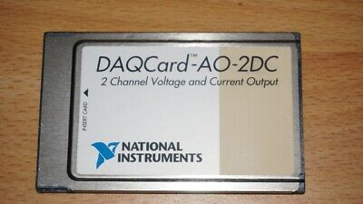 National Instruments AO-2DC Datenlogger