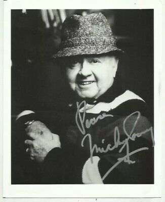 Mickey Rooney Hand Signed Original Autograph Photo - 10x8""