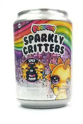 Poopsie Sparkly Critters Unicorn Slime 1 New Can Spit or Poop MGA Entertainment