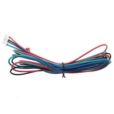 3X 1M 4pin Stepper Motor Cable XH2.54 Male Compatible For 3D Printer