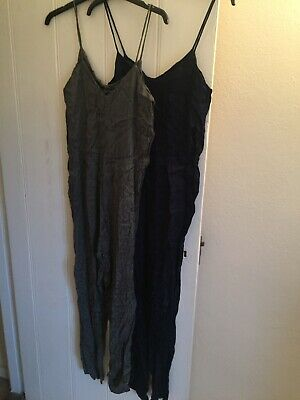 Pair Of Topshop Silky Jumpsuits Size 10
