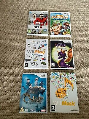 Nintendo Wii Games Bundle (Kids) - Hours of fun for the family - 6 Games!!