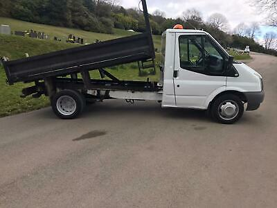 Ford transit tipper 2011 plate