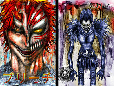 24x36 DeathNote Ryuk Death Note Poster rolled and shrink wrapped