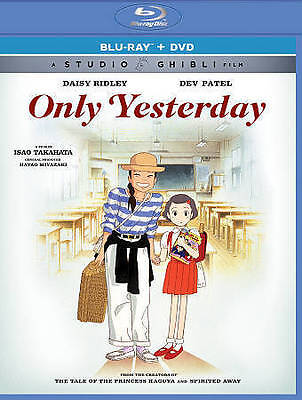 Only Yesterday New Blu-Ray/Dvd