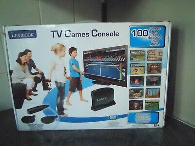 Lexibook TV Game 100 in 1 Black Console