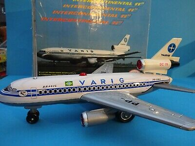 BRINQUEDOS REI  VARIG DC 10 McDonnell Douglas International 11 in OK