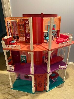 Barbie Dream House Playset, Dolls and Accessories