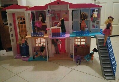 Barbie Hello DPX21 Dreamhouse with Dolls and Accessories - Discontinued