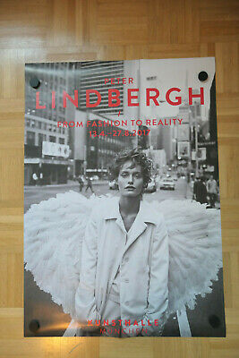Peter Lindbergh, From Fashion to Reality, Amber Valletta, Austellungsposter 2017
