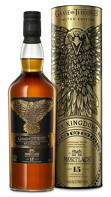 Mortlach - Game of Thrones - Six Kingdoms 15 year old Whisky 70cl