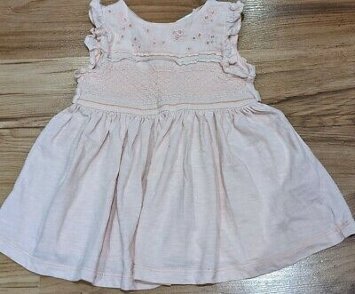 Baby Girl NEXT Summer Pink Party Dress Age 3-6months