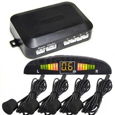 Kit Parking 4 Sensores con Zumbador y Display Led