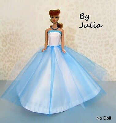 REPRODUCTION CLONE Vintage 1960's Barbie Doll CAMPUS SWEETHEART Blue & Turquoise