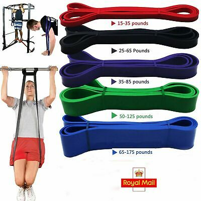 Fitness Resistance Bands Assisted Pull Up Band Power Lifting Exercise Thera Band