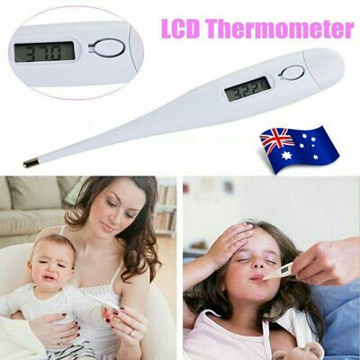 Digital LCD Medical Clinical Body Thermometer Measure Temperature Child&Adult AU