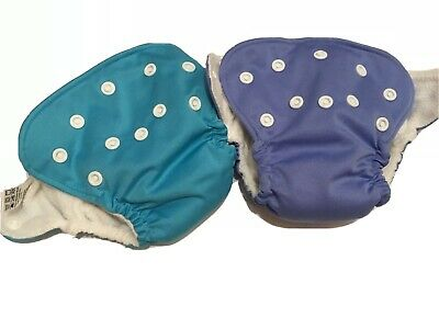 Newborn Cloth Diapers Lot Of 2 AIO, THX brand, Pocket For Additional Inserts