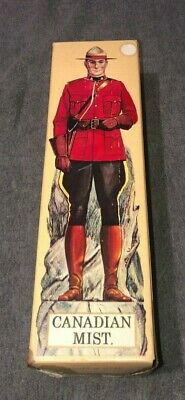 VINTAGE 1969 Canadian Mist Mountie Decanter RARE