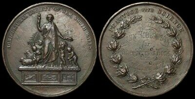 AUSTRALIA : New South Wales: 1878 Agricultural Society Prize Medal.