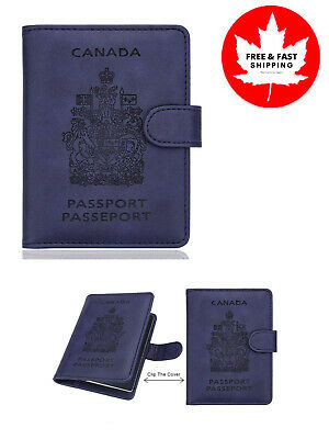 RFID Blocking Passport Holder Travel Wallet Cover Case