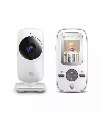 Motorola MBP481 Digital Video Baby Monitor w/ 2-Inch Color Display, Digital Zoom