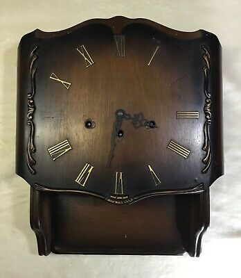 Franz Hermle West German Wooden Wall Clock