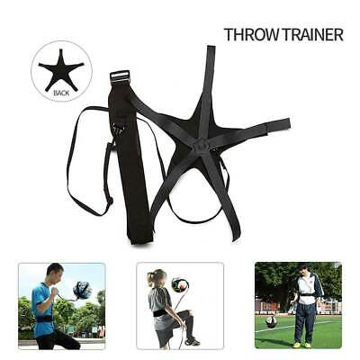 Football Self Training Kick Practice Trainer Aid Equipment Waist Belt Returner#