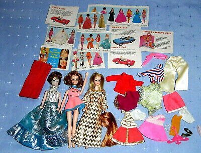 Vintage 1970s Topper Dawn Connie Glori Head to Toe Longlocks Dolls & Clothes