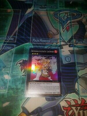 Yugioh Brotherhood Of The Fire Fist Lion Emperor CBLZ-EN099 Super Rare