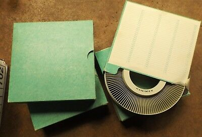 3 Hanimax 120 Slide Reels In Exc Cond   I Will Post