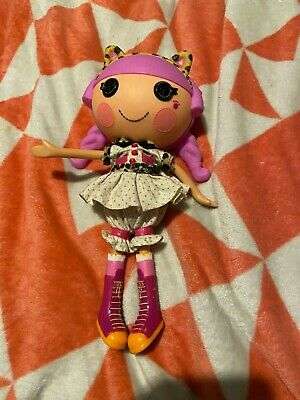 LARGE LALALOOPSY DOLL WITH ANIMAL EARS HEAD BAND AND PINK HAIR FREE POST (acc99)