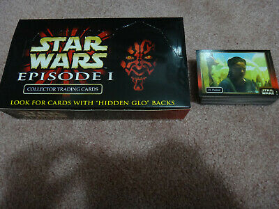 Star Wars Episode 1 Collector Trading Cards Full Set