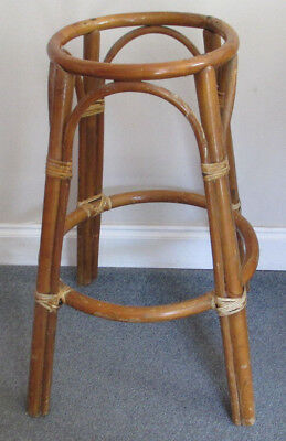 Vintage Bentwood High Stool Seat Kitchen Chair Planter - Strong, needs new seat