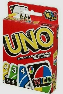`UNO Card Game 112 CARDS Great Family Fun Party game UK Seller FAST DELIVERY