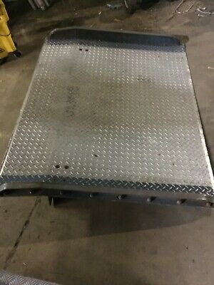 Used Uline  Loading dock plate local pick up only